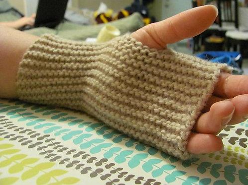 Knitting Fingerless Gloves - 13 and up   NOV. 6
