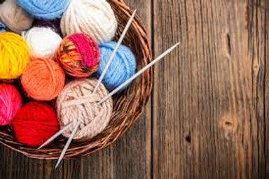 Knitting/Crocheting ( Thursday -All Levels/Adult)