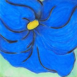 Terrecc Richardson - Blue Flower
