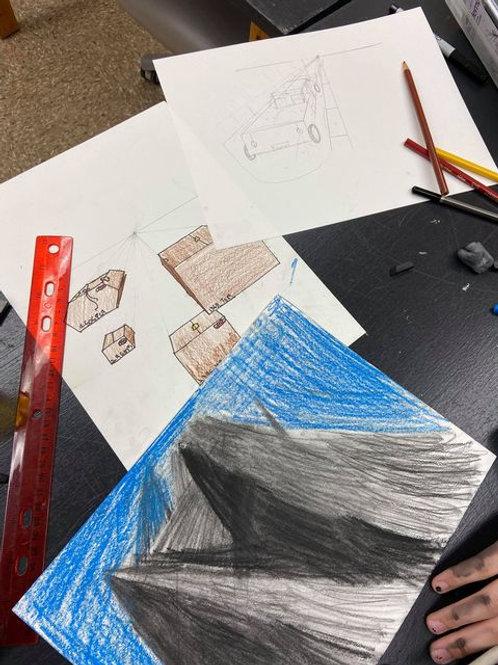Youth Drawing - Grades 2-6