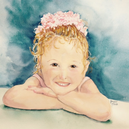 Watercolor Portrait in a Day- Saturday May 15