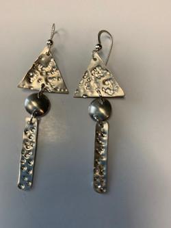 Earrings by Valen Sisters/Joy Dysart