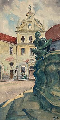Deutschland, München, Residenz Innenhof