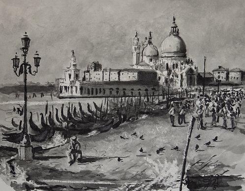 Italien, Venedig, Santa Maria Della Salute