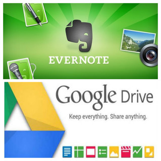 DRIVE & EVERNOTE ...complementarios