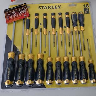 Stanley 18 piece essential screwdriver set
