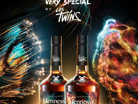 Hennessy X Les Twins - Hennessy Very Special 2021 Launched