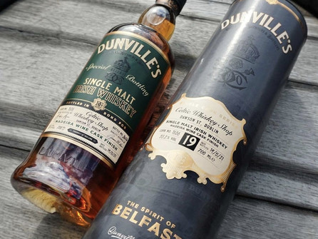 Dunville's announce 19 Year Old Madeira Cask Finish - Celtic Whiskey Shop Exclusive