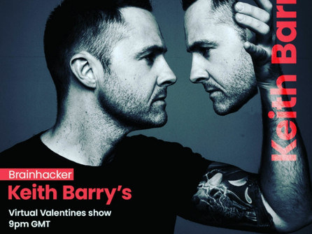Keith Barry's Virtual Valentines Brainhacking Show