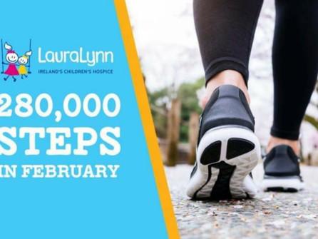 LauraLynn's 280,000 Steps in February Challenge