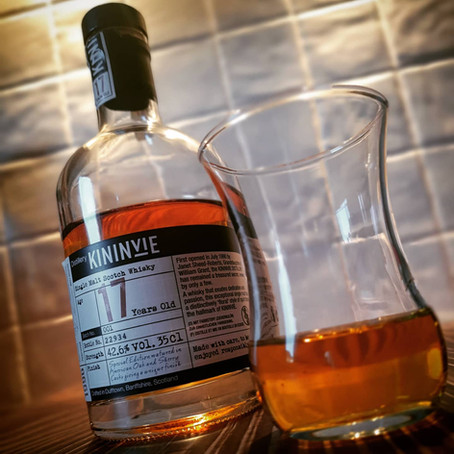Whiskey on Wednesday | Kininvie 17yo⠀