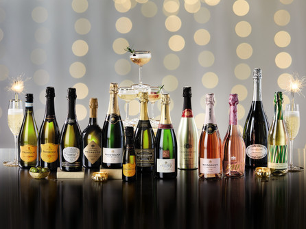 See the year out with bubbles from Aldi