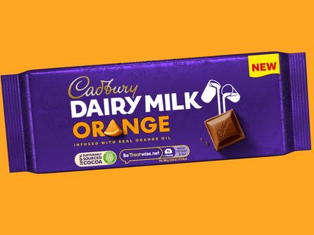 Cadbury Rolls Out Cadbury Dairy Milk Orange Bar