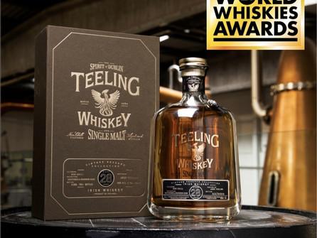 Teeling Whiskey Crowned World's Best Irish Single Malt for Third Year running