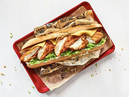 KFC Launch Chicken Fillet Roll – For a Limited Time in Republic of Ireland