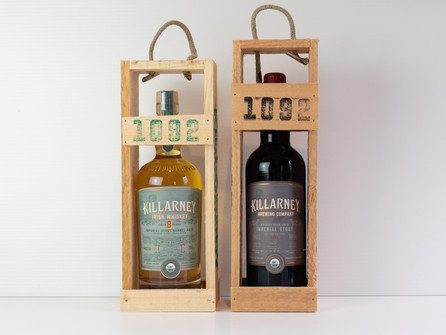 Collaboration of Killarney Irish Whiskey and Imperial Stout launched