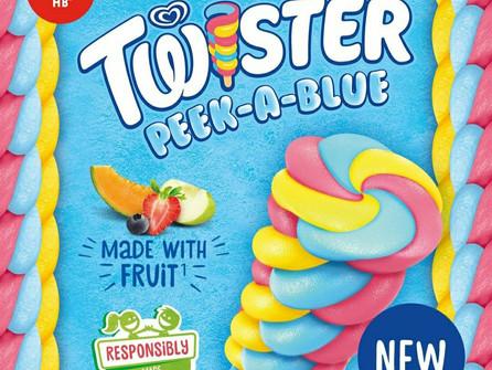 HB launch Twister Peek a Blue