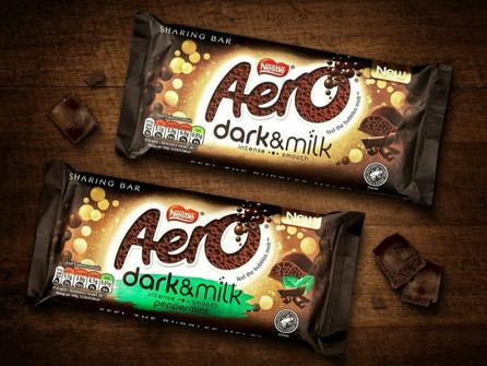 New Chocolate: Nestlé announce Aero Dark & Milk!