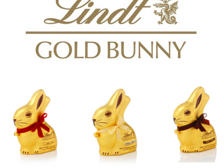 Lindt GOLD BUNNY, make it personal this Easter