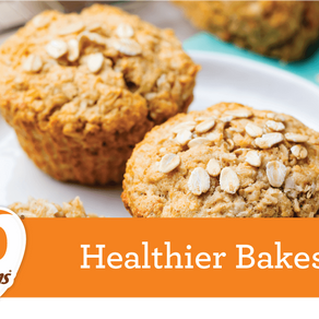 Delicious healthy bakes from Odlums