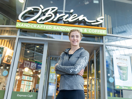 O'Brien's Sandwich Cafés announce Olympian Natalya Coyle as New Brand Ambassador