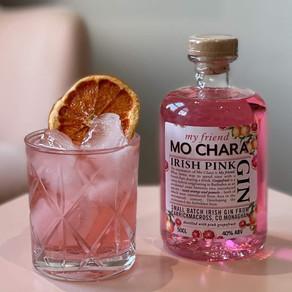 MoChara Irish Pink Grapefruit Gin back in stock at Aldi!