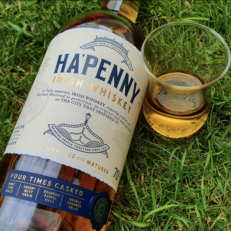 Whiskey on Wednesday | Ha'penny Four Cask⠀