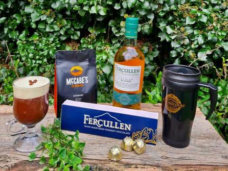 Fercullen Whiskey Launch Irish Coffee Kit, perfect for St. Patricks Day!