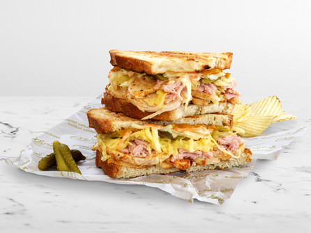 "O'Brien's Sandwich Cafes launches the new ""Backyard BBQ Chicken Melt"""