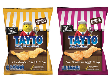 Tayto unveil two new Limited-Edition flavours!