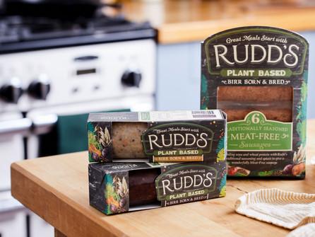 Irish Brand Rudd's Reveal Meat-Free Range (w/recipes)