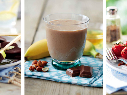 Healthy snacks for a successful home-school day!