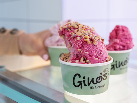 September is Vegan Month at Gino's Gelato with 4 new Dairy-Free Flavours Launched