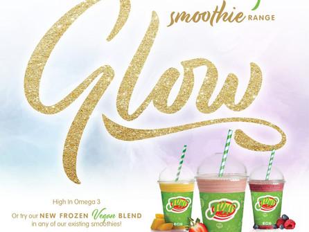 GLOW, the new Vegan Smoothie Range from Jump Juice Bar