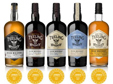 Teeling Whiskey Crowned Overall Irish Whiskey Master