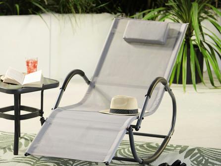 Relax, rock, recline! Aldi's Rocking Sun Lounger is back!