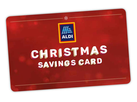 Aldi launches first ever Christmas Savings Card!
