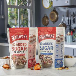 Flahavan's Launch No Added Sugar Option to Granola Range