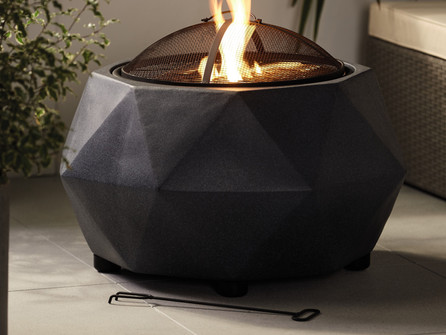 Outdoor escape! Aldi's Specialbuys see the return of Faux Stone Firepit.