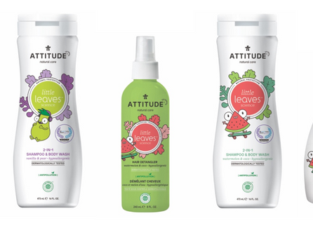 ATTITUDE® Baby Leaves & Little Leaves launch into Irish pharmacies & health food stores