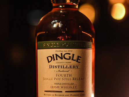 Dingle Single Pot Still Fourth Release named Whiskey of the Year