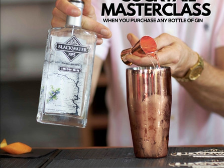 *Free Virtual Cocktail Masterclass with Blackwater Distillery