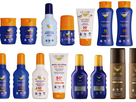 Stay sun safe this summer with Lacura sun care from Aldi