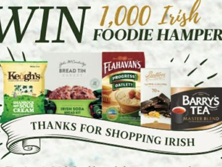 1,000 Irish Food Hampers giveaway