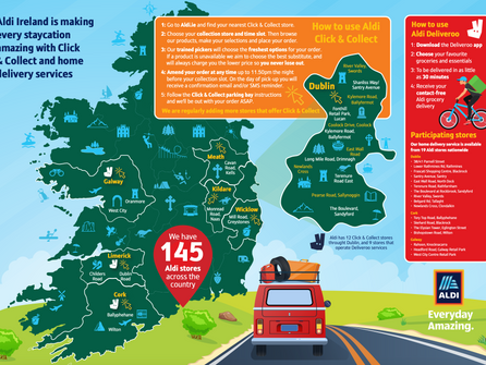 Aldi Survey Reveals nearly 90% of people will book a holiday in Ireland this Summer
