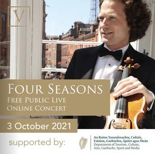 Vladimir Jablokov Returns with Two More Free, LIVE, Online Concerts   Via ZOOM