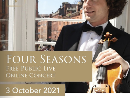 Vladimir Jablokov Returns with Two More Free, LIVE, Online Concerts | Via ZOOM