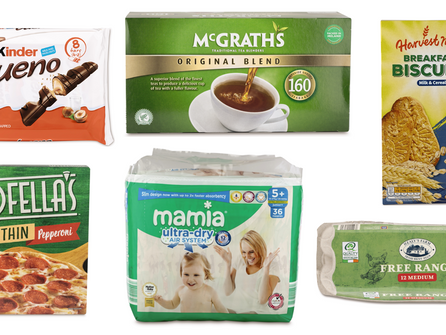 Aldi's latest Amazing Grocery 6 Offers from Wednesday 19th May – Tuesday 1st June