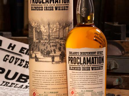 Proclamation Blended Irish Whiskey launches in Ireland
