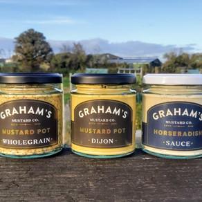 GRAHAM'S Kasundi Chutney joins the condiment collection!